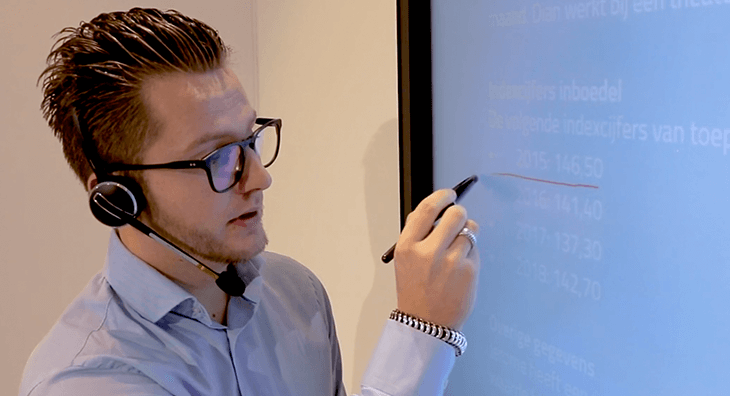 Digital Classroom met trainer Remco