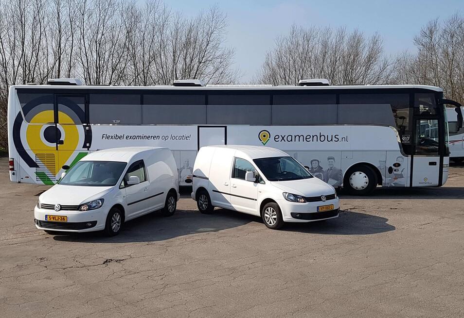 Examenbus - Wagenpark
